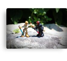 Action Figures Canvas Print