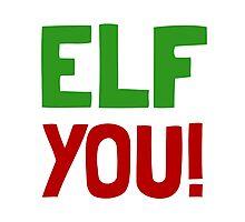 Elf You Photographic Print