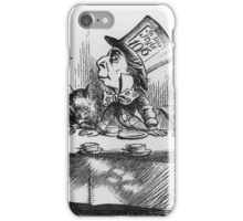 John Tenniel - The Mad Hatter, Illustration From  Alice S Adventures In Wonderland .  iPhone Case/Skin