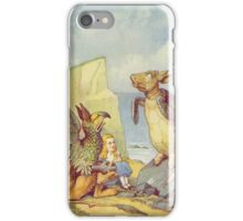 John Tenniel - The Mock Turtle And The Gryphon, Illustration From  Alice In Wonderland. Insects painting: cute bee, fly, bugs, lucky, pets, wild life, animal, butterfly, little small, insects, nature iPhone Case/Skin
