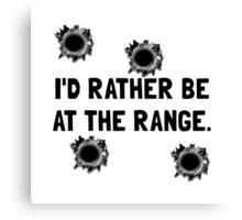 Gun Range Canvas Print