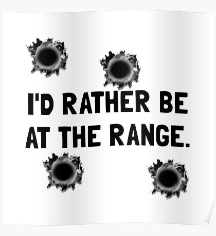 Gun Range Poster