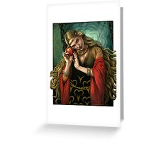 Poison Apple Greeting Card