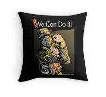 We Can Do It! Throw Pillow