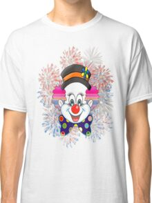 Clown.  fun and cute colorful clown, Fireworks Classic T-Shirt