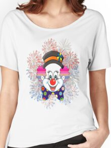 Clown.  fun and cute colorful clown, Fireworks Women's Relaxed Fit T-Shirt