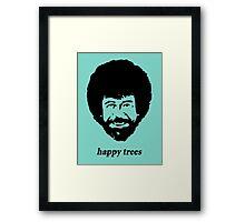 happy trees Framed Print