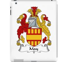 May Coat of Arms / May Family Crest iPad Case/Skin