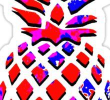 Red Pineapple Sticker