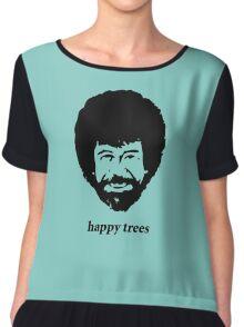 happy trees Chiffon Top