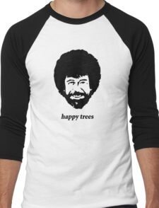 happy trees Men's Baseball ¾ T-Shirt