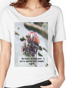 Ms. Bug doesn't want babies for a big surprise! Women's Relaxed Fit T-Shirt