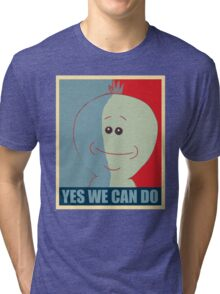 Yes we can do Tri-blend T-Shirt