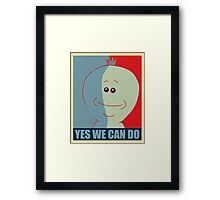 Yes we can do Framed Print