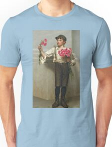 John George Brown - Three For Five 1890. Child portrait: cute baby, kid, children, pretty angel, child, kids, lovely family, boys and girls, boy and girl, mom mum mammy mam, childhood Unisex T-Shirt