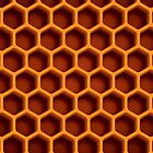 Honeycomb Phone Case Pattern by recklessrocker
