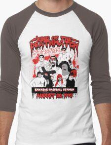 IWA King of the Deathmatch Men's Baseball ¾ T-Shirt
