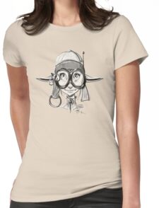 Steampunk Girl Elf Variant Womens Fitted T-Shirt
