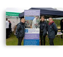 St Christopher's Bromley biannual bluebell walk had another successful year despite the weather. Canvas Print