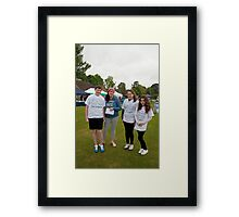 St Christopher's Bromley biannual bluebell walk had another successful year despite the weather. Framed Print