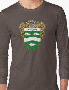 McCabe Coat of Arms/Family Crest Long Sleeve T-Shirt