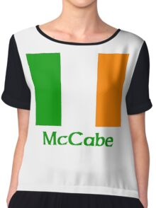 McCabe Irish Flag Chiffon Top