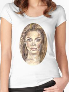 Beyonce is Music Women's Fitted Scoop T-Shirt
