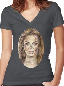 Beyonce is Music Women's Fitted V-Neck T-Shirt