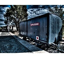 Train Carriage Photographic Print