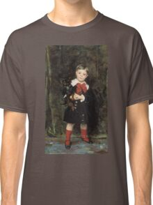John Singer Sargent - Robert 1879. Child portrait: cute baby, kid, children, pretty angel, child, kids, lovely family, boys and girls, boy and girl, mom mum mammy mam, childhood Classic T-Shirt