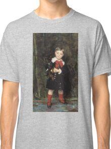 John Singer Sargent - Robert 1879. Child portrait: cute baby, kid, children, pretty angel, child, kids, lovely family, boys and girls, boy and girl, mom mum mammy mam, childhood Classic T-Shirt