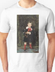 John Singer Sargent - Robert 1879. Child portrait: cute baby, kid, children, pretty angel, child, kids, lovely family, boys and girls, boy and girl, mom mum mammy mam, childhood Unisex T-Shirt