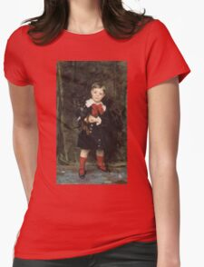 John Singer Sargent - Robert 1879. Child portrait: cute baby, kid, children, pretty angel, child, kids, lovely family, boys and girls, boy and girl, mom mum mammy mam, childhood Womens Fitted T-Shirt
