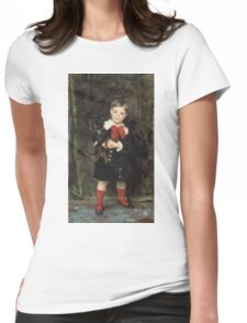 John Singer Sargent - Robert 1879. Child portrait: cute baby, kid, children, pretty angel, child, kids, lovely family, boys and girls, boy and girl, mom mum mammy mam, childhood Womens Fitted T-Shirt
