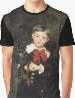 John Singer Sargent - Robert 1879. Child portrait: cute baby, kid, children, pretty angel, child, kids, lovely family, boys and girls, boy and girl, mom mum mammy mam, childhood Graphic T-Shirt