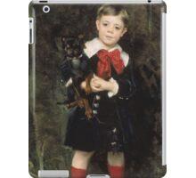 John Singer Sargent - Robert 1879. Child portrait: cute baby, kid, children, pretty angel, child, kids, lovely family, boys and girls, boy and girl, mom mum mammy mam, childhood iPad Case/Skin