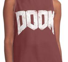 New DOOM logo game HQ Contrast Tank
