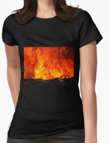 From The Gates Of Hell Womens Fitted T-Shirt