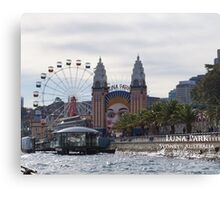 Luna Park Sydney NSW Canvas Print