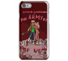 Lesbian Lumberjack vs. The Army of the Dead iPhone Case/Skin