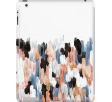 Copper Brush Strokes iPad Case/Skin