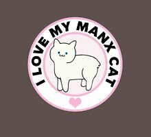 Manx Cat Lover T-Shirts Womens Fitted T-Shirt