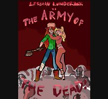 Lesbian Lumberjack vs. The Army of the Dead Zipped Hoodie