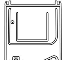 Retro Gamer - Gameboy Sticker