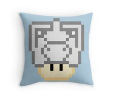 Cyber-Shroom Throw Pillow