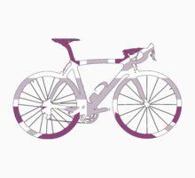 Bike Flag United Kingdom (Pink - Big) by sher00