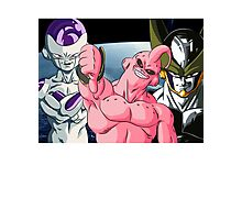 Dragonball Z Frieza, Majin Buu & Cell Photographic Print