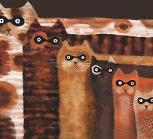 Cat Burglars by fizzyjinks