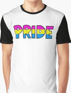 Pan Pride Flag Graphic T-Shirt
