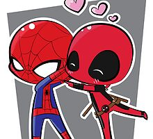 Spideypool by JotunRunt